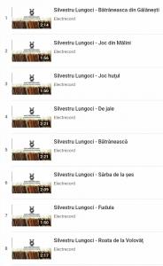 Silvestru Lungoci- fluier - Electrecord